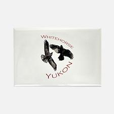 Whitehorse, Yukon Rectangle Magnet