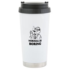 Boring is Normal 2 Travel Mug