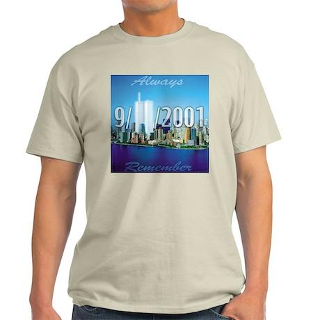 Always Remember 9/11 Ash Grey T-Shirt