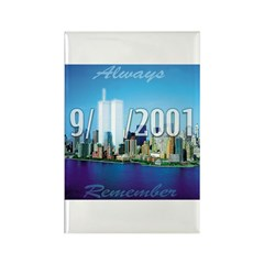 Always Remember 9/11 Rectangle Magnet (10 pack)
