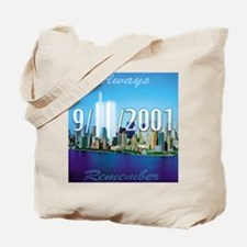 Always Remember 9/11 Tote Bag