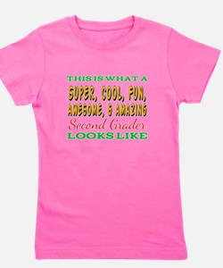 This Is What An Awesome Second Grader Look T-Shirt