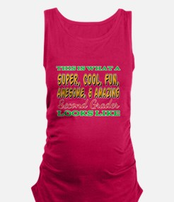 This Is What An Awesome Second Grader Loo Tank Top