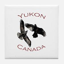 Yukon, Canada Tile Coaster
