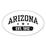 Arizona Est. 1912 Sticker (Oval)