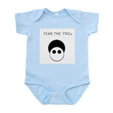 Fear the 'Fro Infant Bodysuit