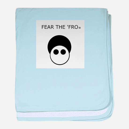 Fear the 'Fro baby blanket