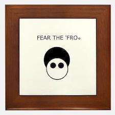 Fear the 'Fro Framed Tile