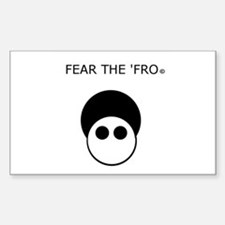 Fear the 'Fro Decal