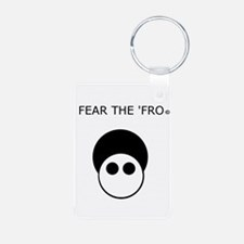 Fear the 'Fro Keychains