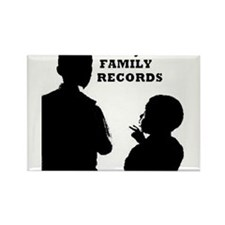 SOULJAH FAMILY RECORDS Rectangle Magnet