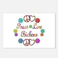 Bichons Postcards (Package of 8)