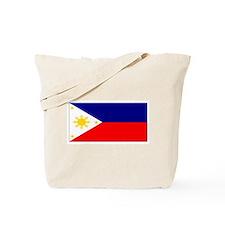Filipino Pilipinas Blank Flag Tote Bag