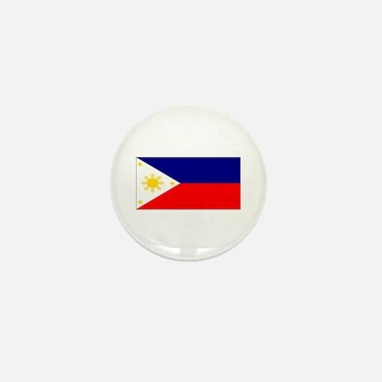 Filipino Pilipinas Blank Flag Mini Button