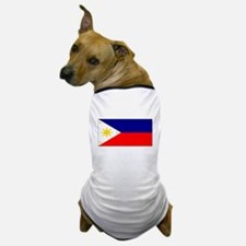 Filipino Pilipinas Blank Flag Dog T-Shirt