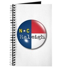 Raleigh North Carolina Flag Journal