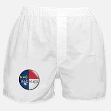 Raleigh North Carolina Flag Boxer Shorts