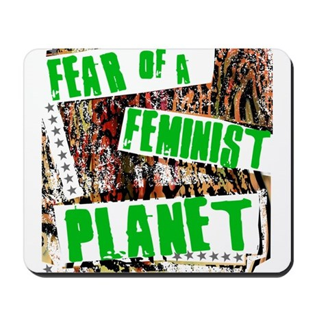 Feminist Planet Mousepad