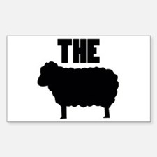 The Black Sheep Sticker (Rectangle)