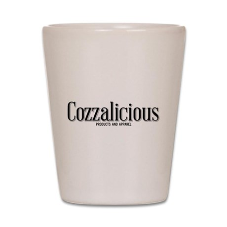 Cozzalicious Products and Apparel Logo Shot Glass