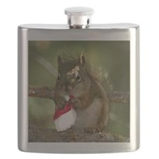 squirrel christmas Flask