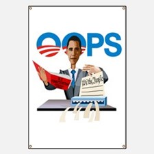Obama at Work Banner