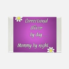 Correctional Officer by day Mommy by night Rectang