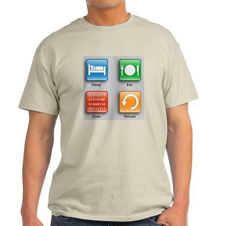 Code Monkeys Daily Planner Light T-Shirt