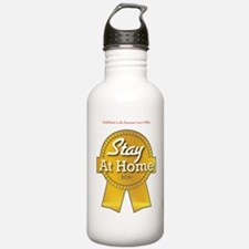 Stay at Home Son Water Bottle