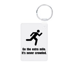 Go The Extra Mile Keychains