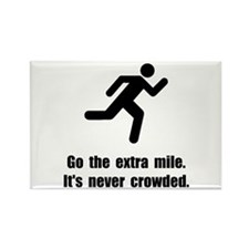 Go The Extra Mile Rectangle Magnet (10 pack)