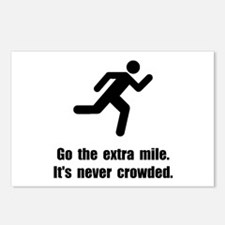 Go The Extra Mile Postcards (Package of 8)