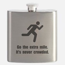 Go The Extra Mile Flask