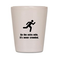 Go The Extra Mile Shot Glass