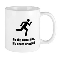 Go The Extra Mile Small Mugs
