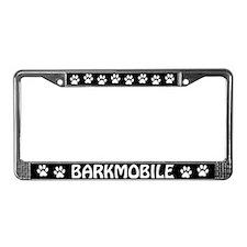 Barkmobile License Plate Frame