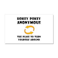 Hokey Pokey Car Magnet 20 x 12