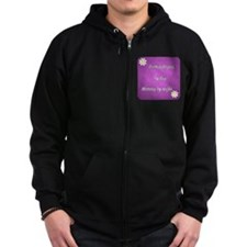 Dermatologist by day Mommy by night Zip Hoodie