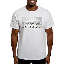 Blah Blah Iphone Case T-Shirt