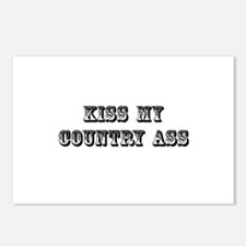 Kiss My Country Postcards (Package of 8)