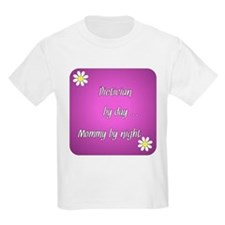 Dietician by day Mommy by night T-Shirt