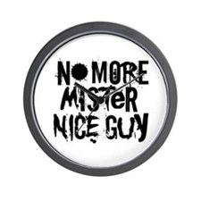 Mr. Nice Guy Wall Clock