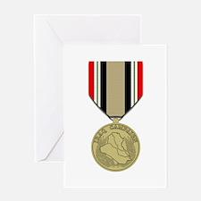 Iraq Campaign Greeting Card