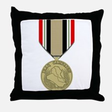 Iraq Campaign Throw Pillow