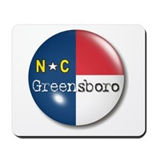 Greensboro North Carolina Flag Mousepad