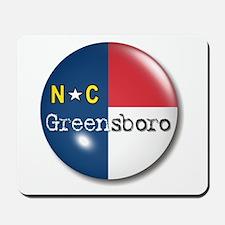 Greensboro North Carolina Flag Mousepad