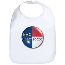 Greensboro North Carolina Flag Bib