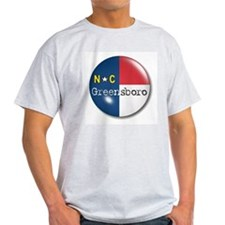 Greensboro North Carolina Flag T-Shirt
