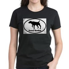 German Shorthaired Pointer Ash Grey T-Shirt T-Shir