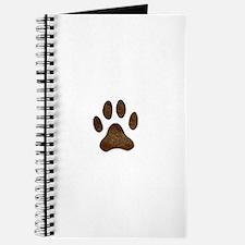 fur paw print Journal